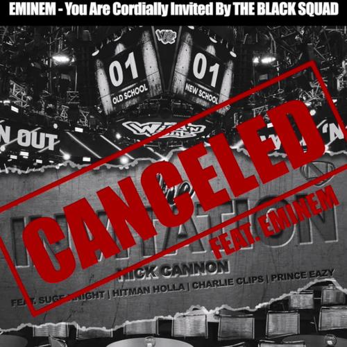 Canceled: Invitation (Eminem Diss) - Nick Cannon