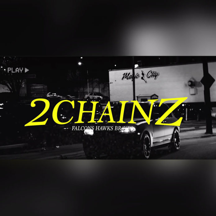Falcons Hawks Braves - 2 Chainz