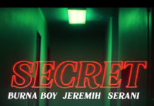 Secret - Burna Boy feat. Jeremih & Serani