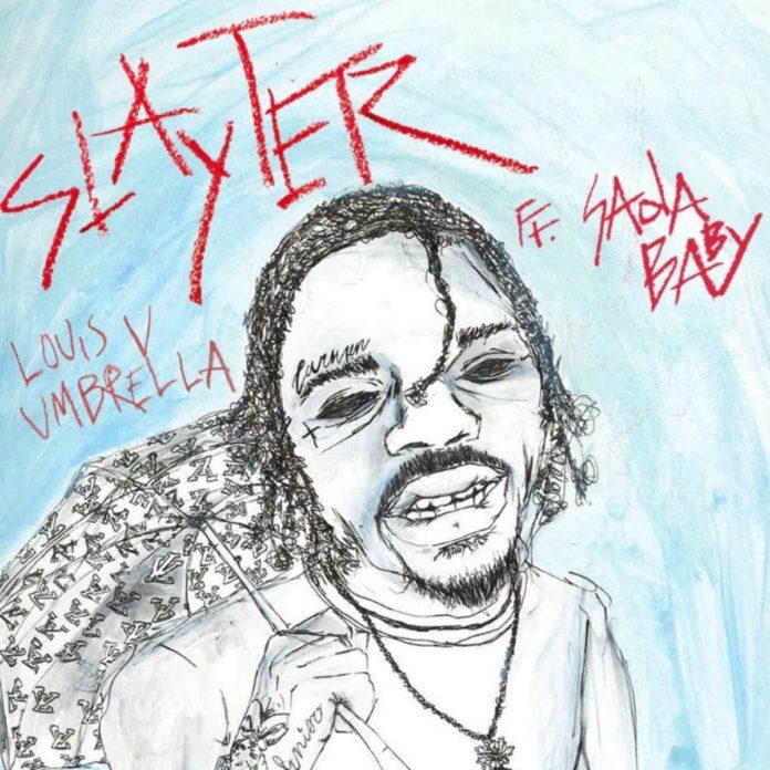 Louis V Umbrella - Slayter Feat. Sada Baby