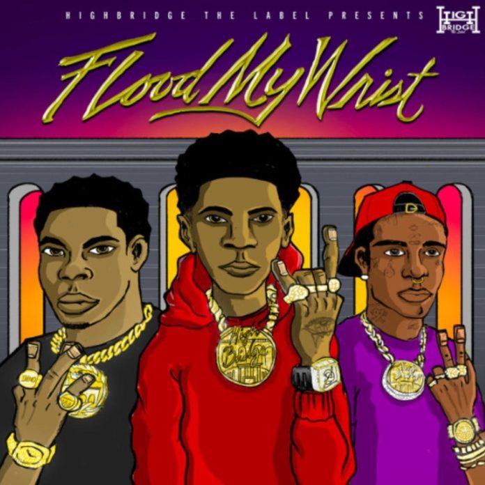 Flood My Wrist - A Boogie Wit Da Hoodie & Don Q Feat. Lil Uzi Vert
