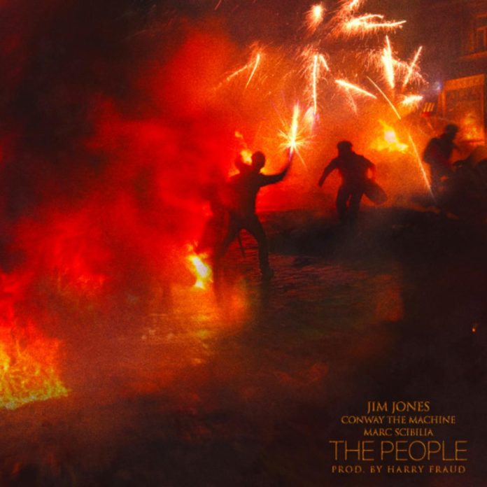 The People (Remix) - Jim Jones Feat. Conway & Marc Scibilia
