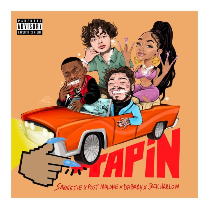 Tap In (Remix) - Saweetie Feat. Jack Harlow, DaBaby & Post Malone