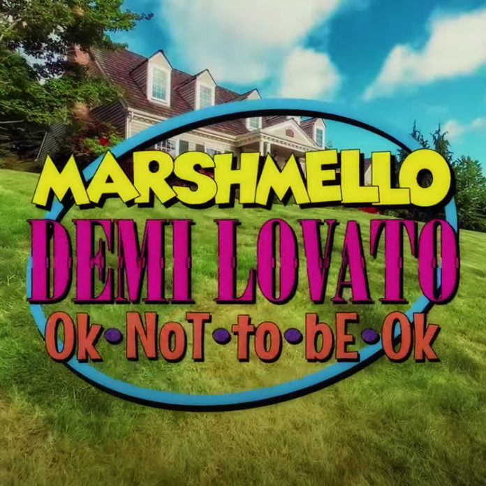 OK Not To Be OK - Marshmello & Demi Lovato feat. CHVRCHES (Official Music Video)