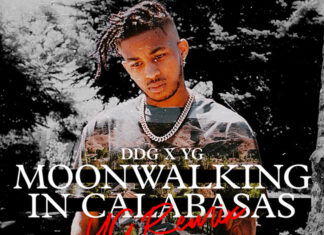 Moonwalking In Calabasas YG Remix - DDG Feat. YG