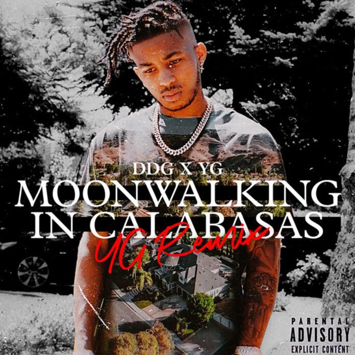 Moonwalking In Calabasas YG Remix - DDG Feat. YG