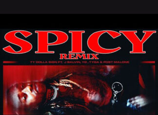 Spicy (Remix) - Ty Dolla $ign Feat. Tyga, YG & J Balvin