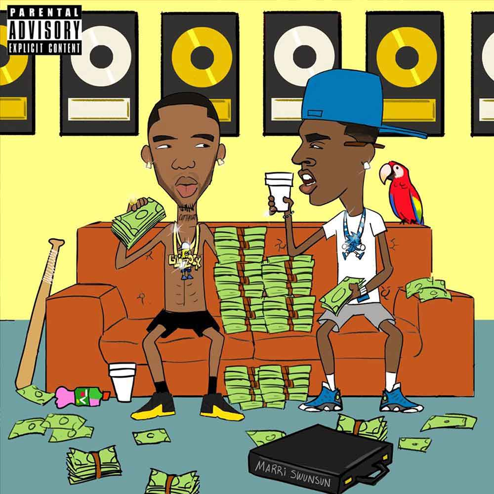 """Key Glock And Young Dolph Define Memphis Rap With Dum & Dummer 2, Is that you up there? Keep tellin' God, """"Keep blessin' me?"""" M's on M's, but I keep that FN right next to me I come from shit, that's why I ball on them so heavily Stack it, flip it, stack it again, that's my recipe, Penguins - Key Glock & Young Dolph,Yeeh Yeeh - Young Dolph,Sleep With The Roaches - Key Glock & Young Dolph, Aspen - Young Dolph & Key Glock"""