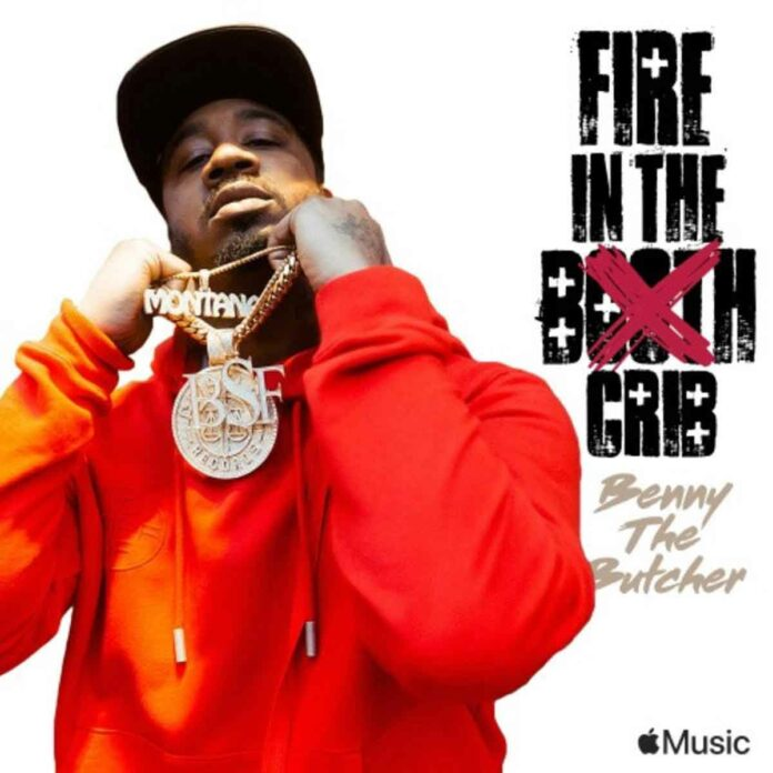 Fire In The Booth Freestyle - Benny The Butcher Feat. Charlie Sloth
