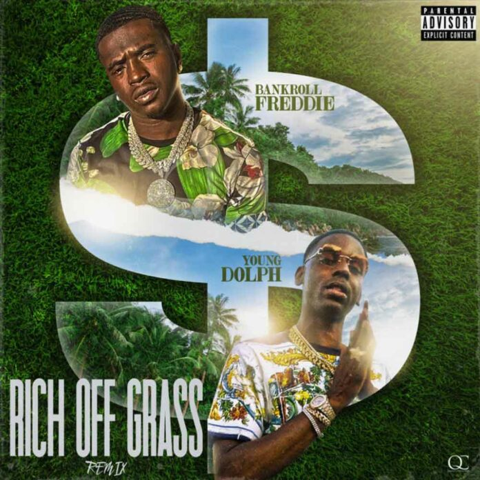 Rich Off Grass Remix - Bankroll Freddie Feat. Young Dolph