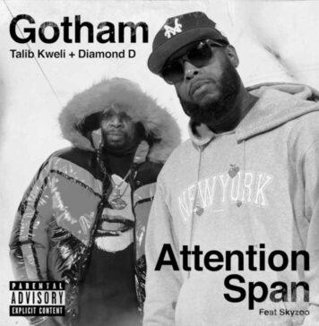 Attention Span - Talib Kweli & Diamond D Feat. Skyzoo