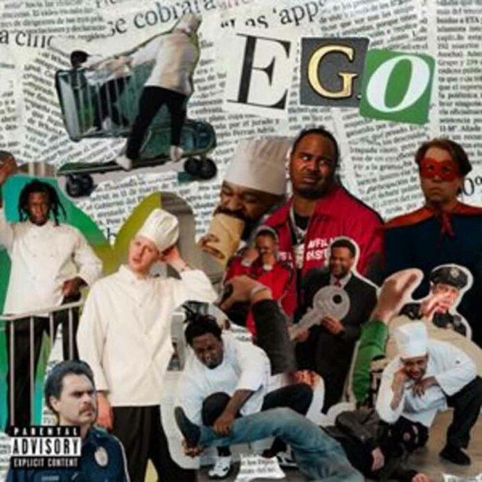 Ego - ALLBLACK Feat. Drakeo The Ruler Produced by Kenny Beats
