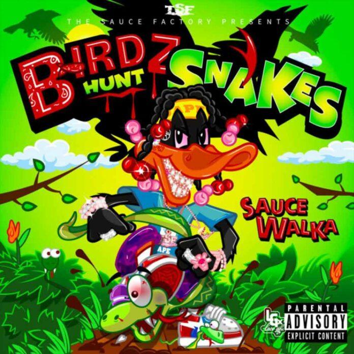 Slime In Chalk - Sauce Walka Feat. Sada Baby