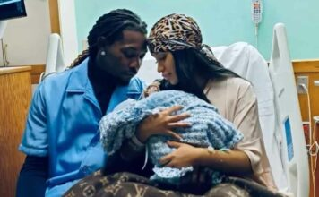 Cardi B & Offset have welcomed their second child together!